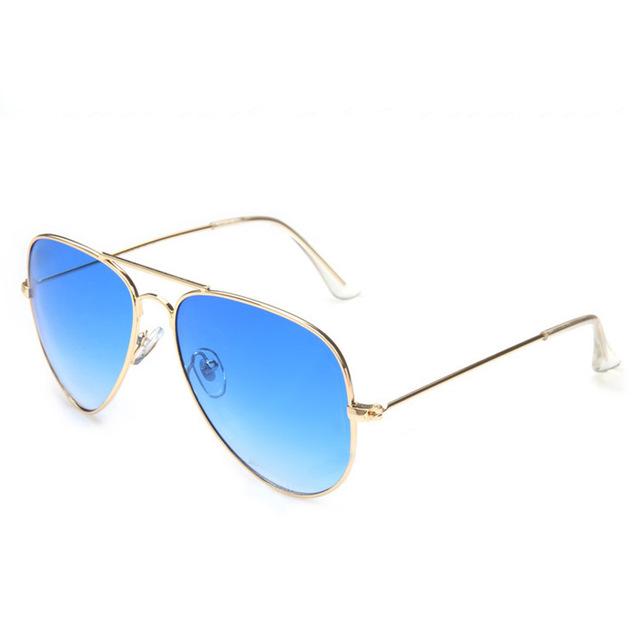 c4a91e427 Stříbrné zlaté sluneční brýle Aviator - Pilotky   Stylové sluneční a ...