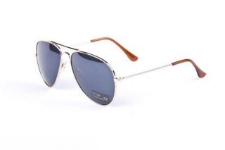 715b042abe8 Zlato - modré sluneční brýle Aviator - Pilotky empty